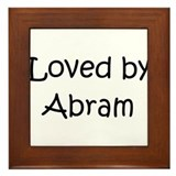 Unique Abram Framed Tile