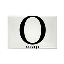 O crap Rectangle Magnet (10 pack)