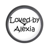 Cute Alexia Wall Clock