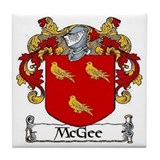 McGee Coat of Arms Ceramic Tile