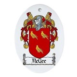 McGee Coat of Arms Keepsake Ornament