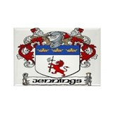 Jennings Coat of Arms Magnets (10 pack)