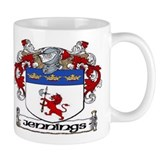 Jennings Coat of Arms Mug