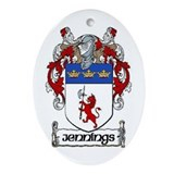 Jennings Coat of Arms Keepsake Ornament