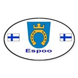 Espoo Automobile Decal