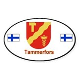 Tammerfors Automobile Decal