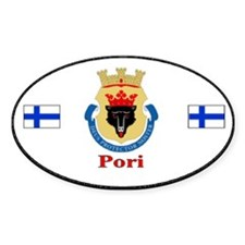 Pori Automobile Bumper Stickers