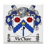McClure Coat of Arms Tile Coaster