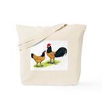 Gold Lakenvelder Chickens Tote Bag