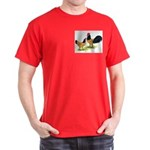 Gold Lakenvelder Chickens Dark T-Shirt