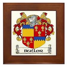 Butler Coat of Arms Framed Tile