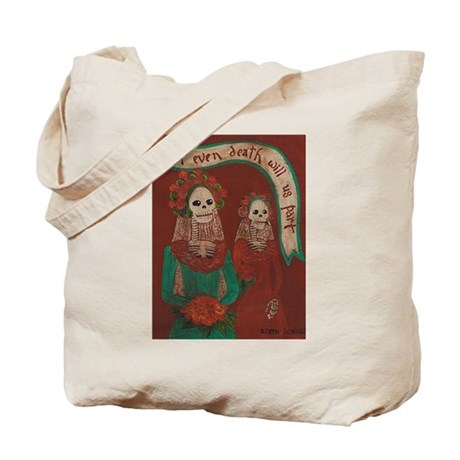 Death Do Us Part Tote Bag
