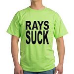 Rays Suck Green T-Shirt