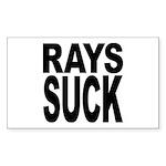 Rays Suck Rectangle Sticker