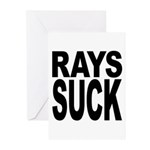 Rays Suck Greeting Cards (Pk of 10)