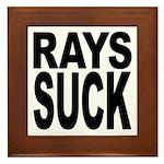Rays Suck Framed Tile