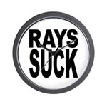 Rays Suck Wall Clock