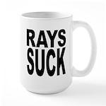 Rays Suck Large Mug