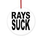 Rays Suck Ornament (Round)