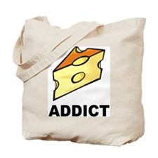 Cheese Addict Tote Bag