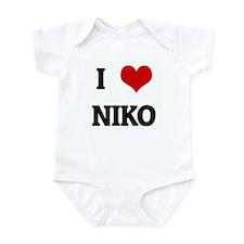 I Love NIKO Infant Bodysuit