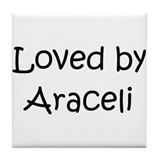 Cute Aracely Tile Coaster