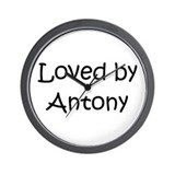Cute Antony Wall Clock