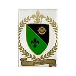 MOISAN Family Crest Rectangle Magnet (10 pack)