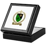 MOISAN Family Crest Keepsake Box