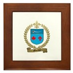 MORENCY Family Crest Framed Tile