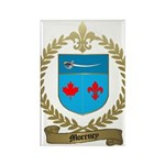 MORENCY Family Crest Rectangle Magnet (100 pack)