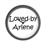 Cool Arlene Wall Clock