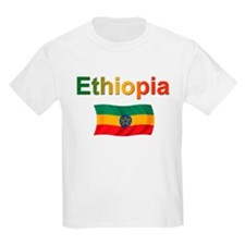 Ethiopia Flag Design T-Shirt