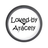 Cute Aracely Wall Clock