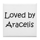 Funny Aracely Tile Coaster