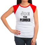JOE THE PLUMBER Women's Cap Sleeve T-Shirt