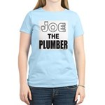 JOE THE PLUMBER Women's Light T-Shirt