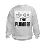 JOE THE PLUMBER Kids Sweatshirt