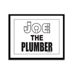 JOE THE PLUMBER Framed Panel Print