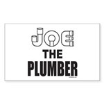 JOE THE PLUMBER Rectangle Sticker 50 pk)