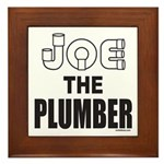 JOE THE PLUMBER Framed Tile