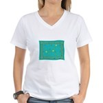 Capricorn Constellation Tapes Women's V-Neck T-Shi