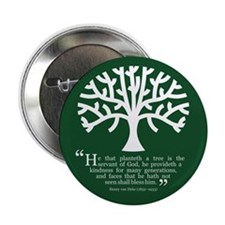 "Planteth A Tree 2.25"" Button"