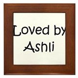 Funny Ashly Framed Tile