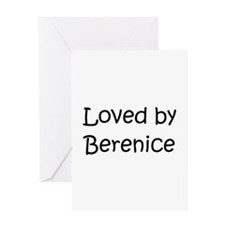 Unique Berenice Greeting Card