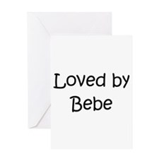 Funny Bebe Greeting Card