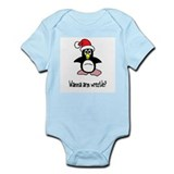Wanna Armwrestle Infant Bodysuit