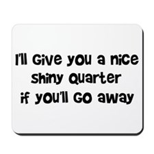 Quarter Mousepad
