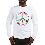 Love in Peace. Bunch of heart Long Sleeve T-Shirt