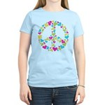 Love in Peace. Bunch of heart Women's Light T-Shir